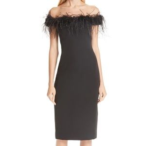 Fabulously Feathered Cocktail Dress